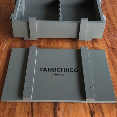 木盒印刷效果參考/黑色