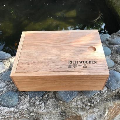 滑蓋木盒訂製