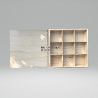 訂製木盒-活動隔板