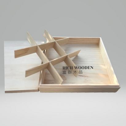 訂製木盒-活動隔板-1